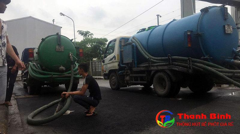 Dịch vụ hút bể phốt tại tỉnh Bắc Giang