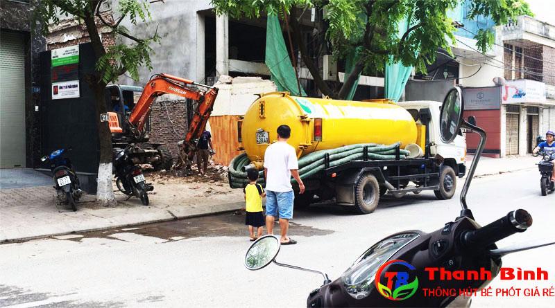 Dịch vụ hút bể phốt tại tỉnh Hưng Yên