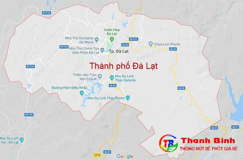 Thông cống nghẹt tại thành phố Đà Lạt