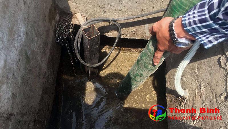 Dịch vụ hút hầm cầu quận Bình Tân giá rẻ