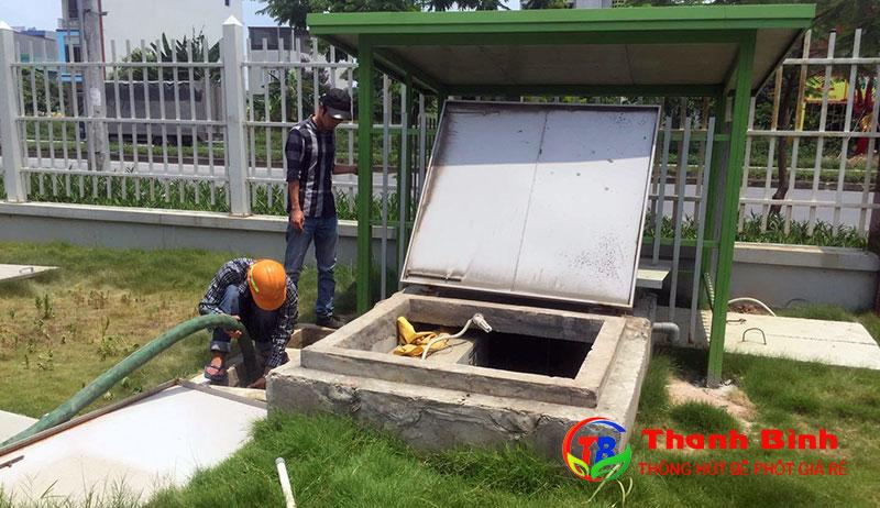 Dịch vụ rút hầm cầu tại huyện Nhà bè