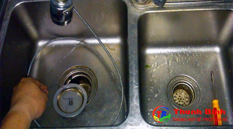 Thông tắc chậu rửa tại quận Ba Đình