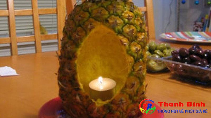 Cách khử mùi trong phòng kín bằng trái thơm