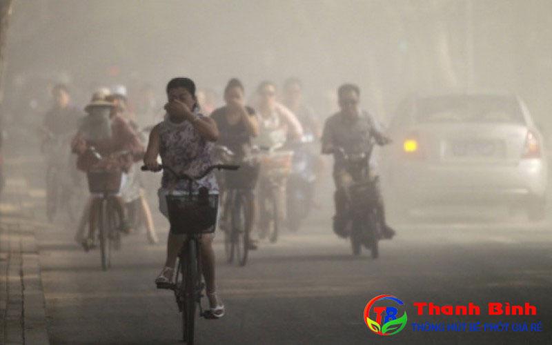 Ô nhiễm môi trường khí là gì?