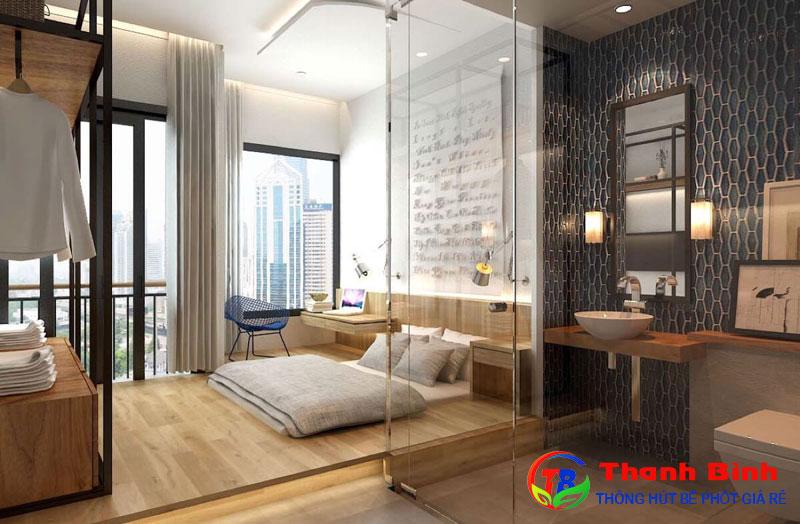 Có nên xây nhà vệ sinh trong phòng ngủ không?