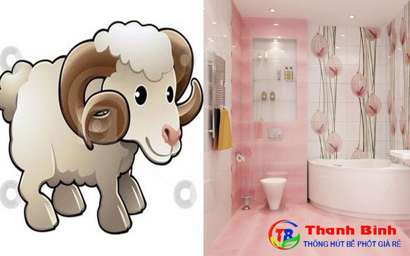 Hướng nhà vệ sinh cho tuổi Tân Mùi