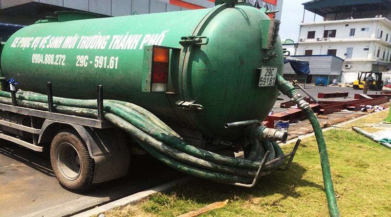 Dịch vụ rút hầm cầu tại Bình Dương