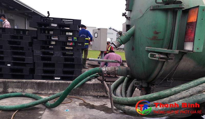 Dịch vụ hút hầm cầu tại Dĩ An