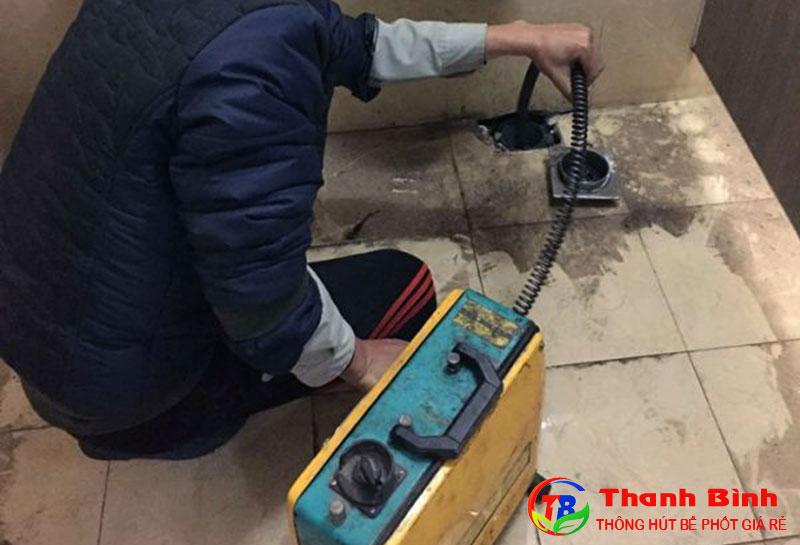 Thanh Bình - Công ty thông tắc cống tại Đội Cấn uy tín, chuyên nghiệp
